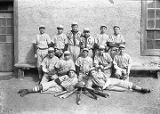 """Stars"" baseball team, Saint Michael's College, Santa Fe, New Mexico"
