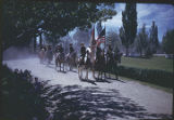 Detachment of riders at special event, New Mexico
