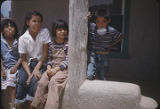 Pueblo children, New Mexico