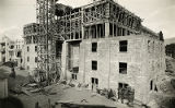 Construction of first addition to La Fonda Hotel, Santa Fe, New Mexico