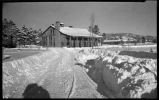 Wintertime at Los Alamos Ranch School, Los Alamos, New Mexico