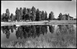 Ashley Pond, Los Alamos Ranch School, Los Alamos, New Mexico