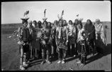 War Dancers and Singers, Taos Pueblo, New Mexico
