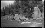"""Camp in Valle"", Los Alamos Ranch School, Los Alamos, New Mexico"