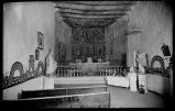 Mission Church interior, Laguna Pueblo, New Mexico