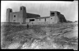 Mission church at Acoma Pueblo, New Mexico