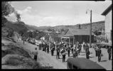 Parade in the mining town of Madrid, New Mexico