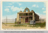 Cochiti Church Postcard
