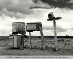 Mailboxes in Catron County, New Mexico