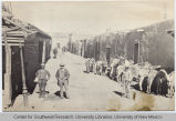 Burro Alley, Santa Fe, NM in the 1890's