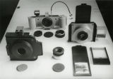 Array of lensless Leica pinhole cameras