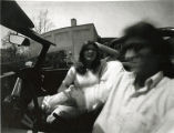 "John and Kathy, from 11"" X 14"" pinhole paper negative"
