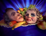 """Jim and Tammy Faye - Heaven Bound"" from 'on deaf ears' series"