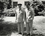 Goddard Exhibit Dedication - Two Army Generals
