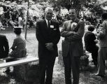 Goddard Exhibit Dedication - Unknown People - 1959