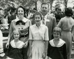 Goddard Exhibit Dedication - Rogers and Mary Ellen Aston and Family - 1959