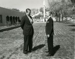 Goddard Exhibit Dedication - Werner Von Braun with James Walker Joyce - 1959