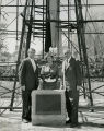 Goddard Exhibit Dedication, Esther Goddard, Werner Von Braun, Hugh Milton - 1959