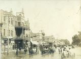 Flood, Main Street Roswell, Sept 1904