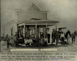 Melrose, NM, first house, Dec 1905