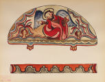 The Creation, Lunette Decorative Border - The Portfolio of Spanish Colonial Design in New Mexico
