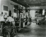 Dr. Goddard workshop, interior view, c. 1930