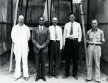 Goddard with Lindbergh & Guggenheim - Sep 23, 1935