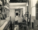Interior view of Goddard's expanded workshop - c. 1941-42