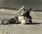 Crashed V-2 at White Sands - c. 1946-1951