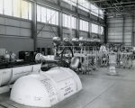 Redstone Engines in Hangar - c. 1958