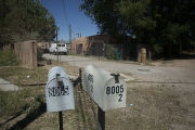 Two mailboxes