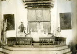 Cochiti Church interior with altar