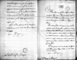 SCRC ID: 6854. Cover letter for the text of a discourse between Vicente Manuel Zespedes and Creeke...