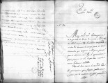 SCRC ID: 6843. Letter from Diego Gardoqui regarding the upcoming gathering of Congress, 1786.