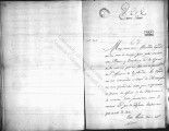 SCRC ID: 6861. Letter from Diego Gardoqui regarding the correspondence of Vizente Manuel Zespedes...