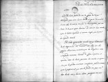 SCRC ID: 6858. Letter from Alexandro MacGillivray regarding news he received from Philadelphia,...