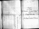 SCRC ID: 6794. Project for a Treaty of friendship between the United States and Spain, 1816.