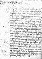 SCRC ID: 3212. Petition concerning the death of New Mexico Governor Don Luis de Rosas, 1643.