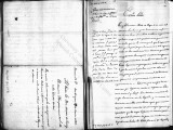 SCRC ID: 6772. Letter in which the writer request instructions for Onís and the governors of New...