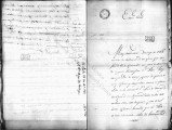 SCRC ID: 6838. Fragment of a letter concerning complaints about Luis de Unzaya, 1786.