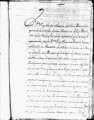 SCRC ID: 3171. List of misionaries bound for the Colegio de Santa Cruz de Querétaro, 1749.