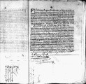 SCRC ID: 3065. Patente for fray Francisco de San Diego to join missionary party to Florida, 1696.
