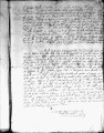 SCRC ID: 3086. Patente for fray Thomas de Barrios to join missionary party to Florida, 1719.