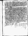 SCRC ID: 3052. Patente for fray Diego de Leon to join missionary party to Florida, 1689.