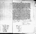 SCRC ID: 3072. Patente for fray Antonio González to join missionary party to Florida, 1696.