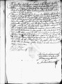 SCRC ID: 3021. Patente for fray Pedro de la Lastra to join missionary party to Florida, 1673.