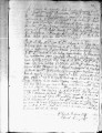 SCRC ID: 3117. Patente for fray Pedro Morales to join missionary party to Florida, 1722.