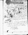 SCRC ID: 3133. Petition for reissuance of lost dispatches for missionaries in Florida, 1732.