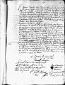 SCRC ID: 3103. Patente for fray Pedro Ybañez to join missionary party to Florida, 1721.