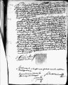 SCRC ID: 3042. Patente for fray Martín de Saldaña to join missionary party to Florida, 1689.